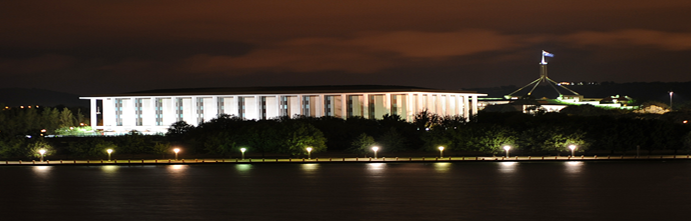 National_Library_of_Australia_at_night 2