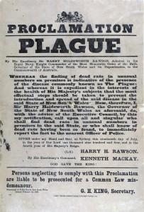 plague proclamation