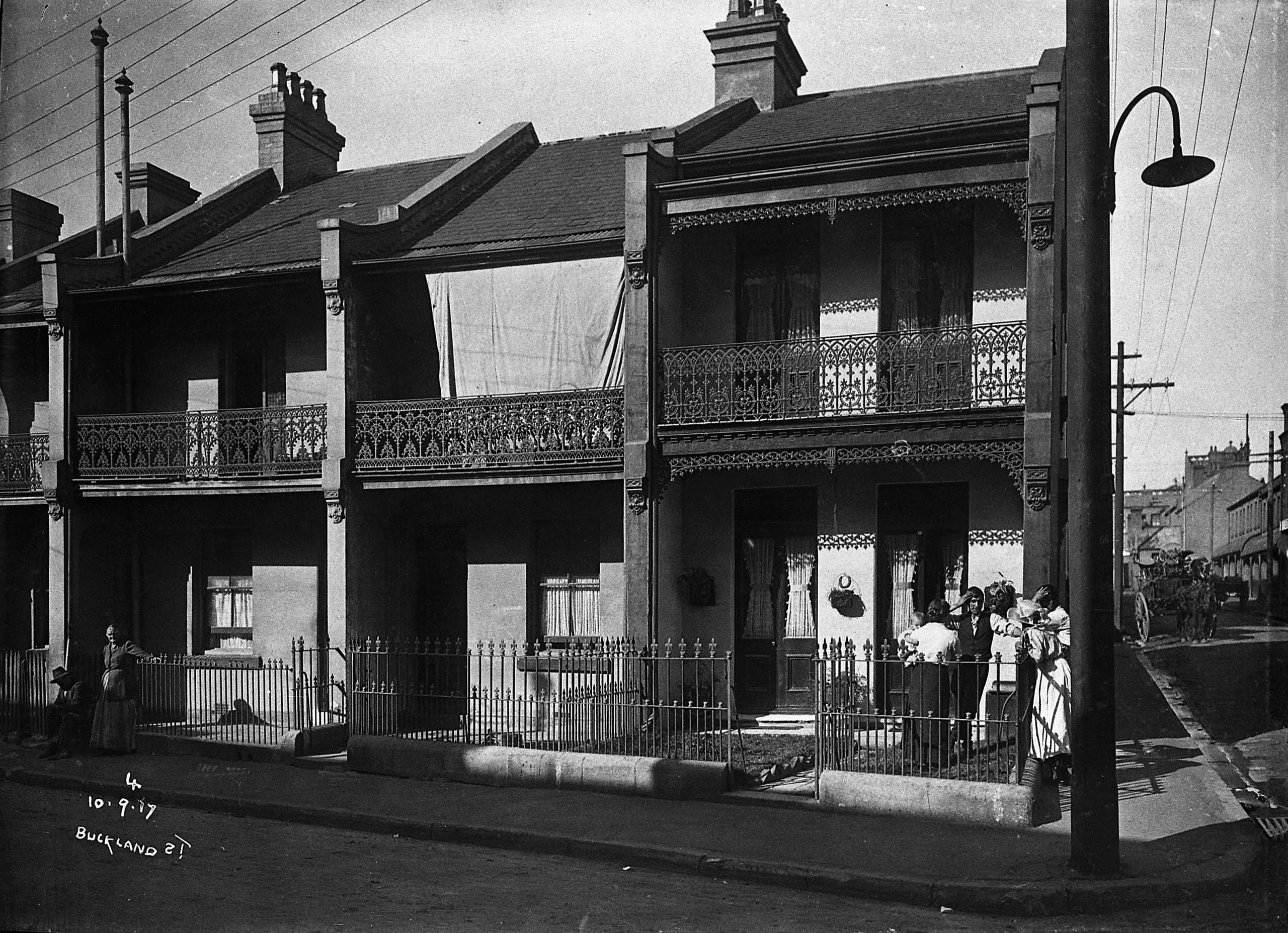 Photo of Terrace Houses from 1917
